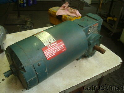 Reliance 34 Hp Dc Gearmotor W 501 Right Angle Reducer