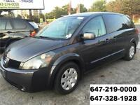 2005 Nissan Quest S AUTOMATIC ALL POWER DVD RUNS LIKE NEW