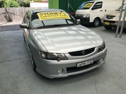 2003 Holden Commodore VY II SS Silver 4 Speed Automatic Sedan