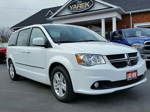2016 Dodge Grand Caravan Crew Plus, Leather Heated Seats/Wheel,