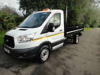 Ford Transit T350 L2H1 125BHP 10ft Steel Dropside Tipper