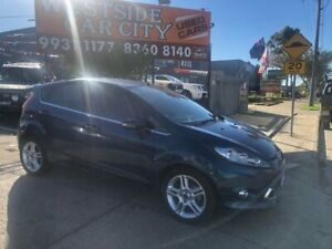 2013 Ford Fiesta WT Zetec Blue 6 Speed Automatic Hatchback Hoppers Crossing Wyndham Area Preview