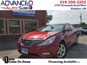 2011 Hyundai Sonata Limited Leather/Nav/Cam/Sunroof $49.88/WEEK