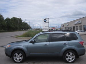 ONE OWNER ! 2010 SUBARU FORESTER LIMITED