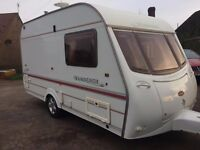 COACHMAN WANDERER 13/2 2002 CARAVAN WITH AWNING CRIS REGISTRED