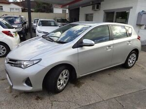 2014 Toyota Corolla ZRE182R Ascent Silver 7 Speed CVT Auto Sequential Hatchback Sylvania Sutherland Area Preview