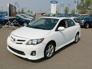 2012 Toyota Corolla S, 1.8L I4, Sunroof, Hands Free, Heated Mirr