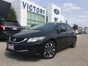 2015 Honda Civic EX, Touch Screen, Heated Seats, - 3 DAY TENT SA