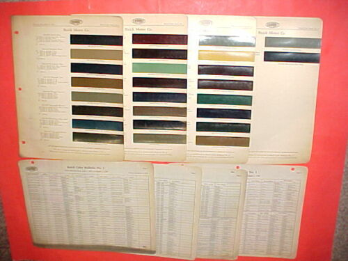 1928-1931 BUICK SPORT ROADSTER PHAETON BUSINESS COUPE SPECIAL SEDAN PAINT CHIPS