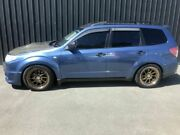 2008 Subaru Forester MY09 XT Blue 4 Speed Auto Elec Sportshift Wagon Phillip Woden Valley Preview