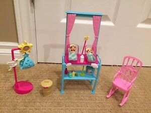 Barbie Toys - Newborn set with Barbie and babies