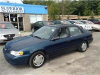 2000 Toyota Corolla CE Fully Certified and E-tested!