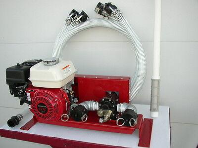 New Honda Engine Gas Powered Bulk Oilwaste Oil Pump25 Gpmw Complete Hose Kit