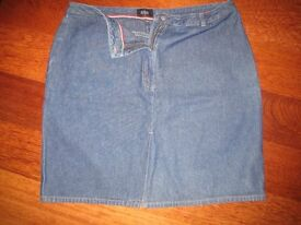 LADIES JASPER CONRAN JEAN SKIRT