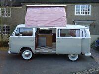 Stunning, 1971 1600 VW T2 Bay Camper pop-top Tax Exempt 11 months MOT