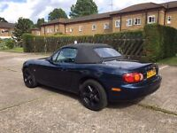 Mazda MX5 1.8 - Perfect Car for the Summer - Full Service History - Drives Great