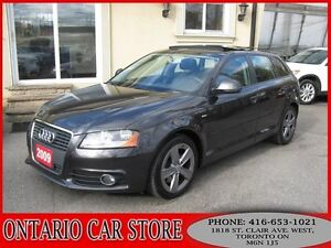 2009 Audi A3 2.0T S-LINE QUATTRO LEATHER PANO.ROOF