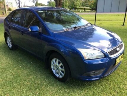 2008 Ford Focus LT CL Blue 4 Speed Automatic Hatchback Tuggerah Wyong Area Preview