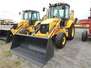 2015 New Holland B95.B Backhoe - 96hp, Tier 3, 4wd, HED dipperst
