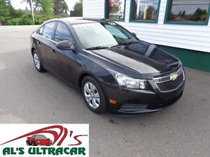 2012 Chevrolet Cruze LS+ w/1SB only $98 bi-weekly all in!