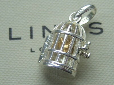 New in box genuine Links of London birdcage charm RRP £70