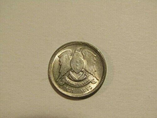 Syria 1956 2- 1/2 Piastres unc Coin