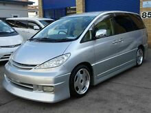 2004 Toyota Estima AERAS Premium Silver 4 Speed Automatic Wagon Caringbah Sutherland Area Preview