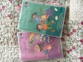 Two Toddler's DVDS- nursery rhyme entertainment!