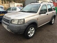 2001 Land Rover Freelander 4x4, starts and drives well, does export, MOT until 18th February, 85,000