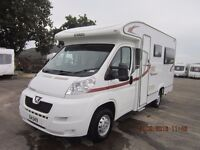 2011 ELDDIS AUTOQUEST 140 2 BERTH LOW PROFILE MOTORHOME ANDERSON CARAVAN AND MOTORHOME SALES