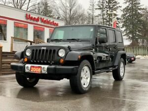 2008 Jeep Wrangler Unlimited Sahara 4dr 4WD 4 Door