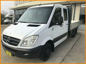 2010 Mercedes-Benz Sprinter 906 MY10 516 CDI LWB White 5 Speed Automatic Cab Chassis Blacktown Blacktown Area Preview