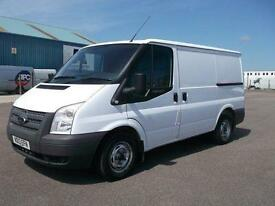 Ford Transit 100T280 SWB LOW ROOF VAN TDCI 100PS DIESEL MANUAL WHITE (2013)