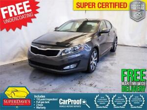 2011 Kia Optima EX Luxury *Warranty* $173.21 Bi-Weekly OAC