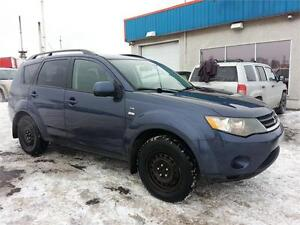 2008 Mitsubishi Outlander LS AWD 7 PASSAGERS/TOIT/MAGS/ FULL!!
