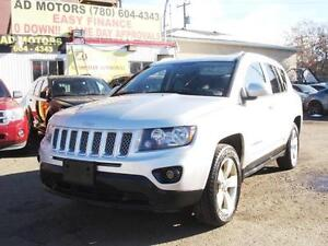 """SALE THIS WEEK"" 2014 JEEP COMPASS NORTH 4X4 LEATHER-100% FINANC"