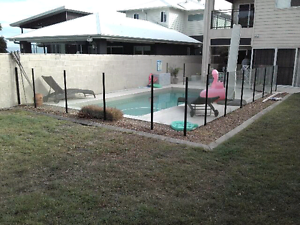 Semi Frameless Glass pool fencing Bulimba Brisbane South East Preview