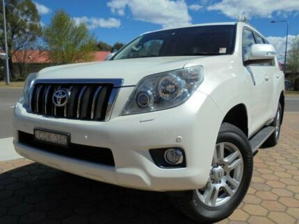 2011 Toyota Landcruiser Prado KDJ150R VX (4x4) White 5 Speed Sequential Auto Wagon