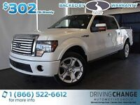 2011 Ford F-150 Limited-Moon Roof-Nav-6.2L V8