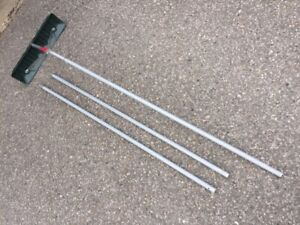 16 foot Roof Rake for safe snow removal