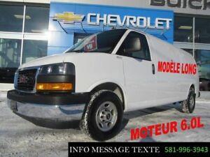 2018 Chevrolet EXPRESS CARGO 3500 LONGUE, MOTEUR 6.0L