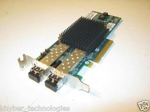 Emulex-LightPulse-LPe12002-8Gpbs-fiber-HBA-PCIe-x8-with-2-ports-Low-Profile