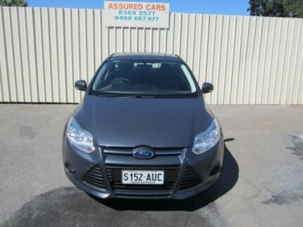2012 Ford Focus LW Ambiente Charcoal Grey 6 Speed Automatic Hatchback Windsor Gardens Port Adelaide Area Preview