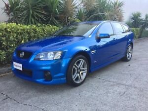 2011 Holden Commodore VE II SV6 Blue 6 Speed Automatic Sportswagon