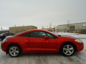 2008 Mitsubishi Eclipse Coupe SPORT PKG  -2.4L 4 CYL--5 SPEED