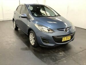 2014 Mazda 2 DE10Y2 MY14 Neo Sport Blue 4 Speed Automatic Hatchback Cardiff Lake Macquarie Area Preview