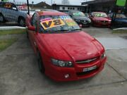 2005 Holden Commodore VZ SS Red 4 Speed Automatic Utility New Lambton Newcastle Area Preview