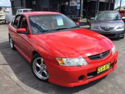 2003 Holden Commodore VY II S Red Automatic Sedan