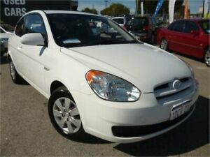 2009 Hyundai Accent MC S White 5 Speed Manual Hatchback Wangara Wanneroo Area Preview