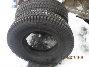 pneus de tracteur pour neige